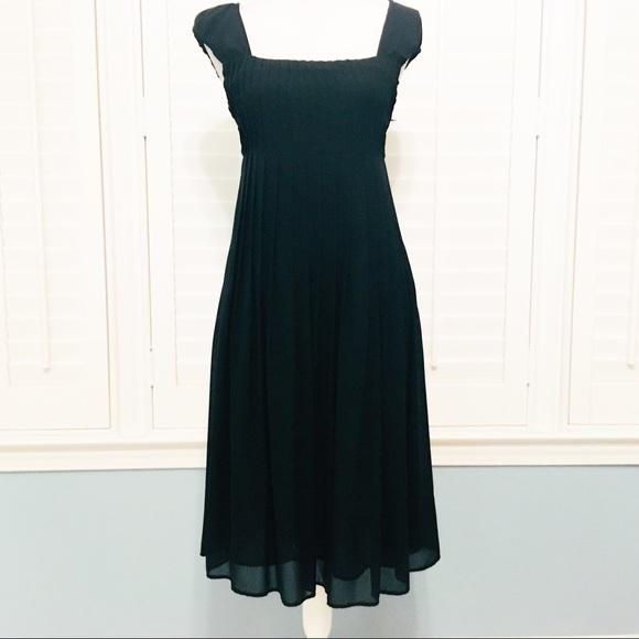 5567d613ed NWT Jake s pleated tea length cocktail dress -sz 2